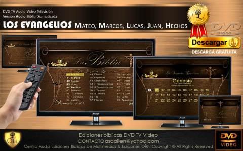 DVD TV EVANGELIOS Espiga de trigo
