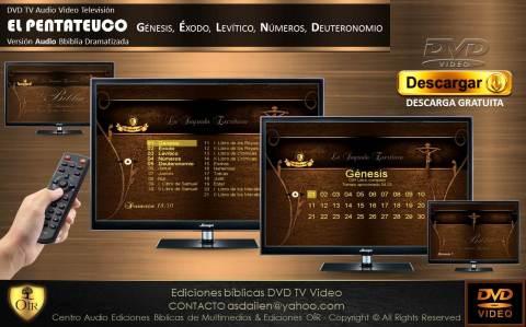 . DVD TV PENTATEUCO Espiga de trigo