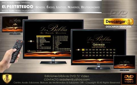 . DVD TV PENTATEUCO Libro abierto
